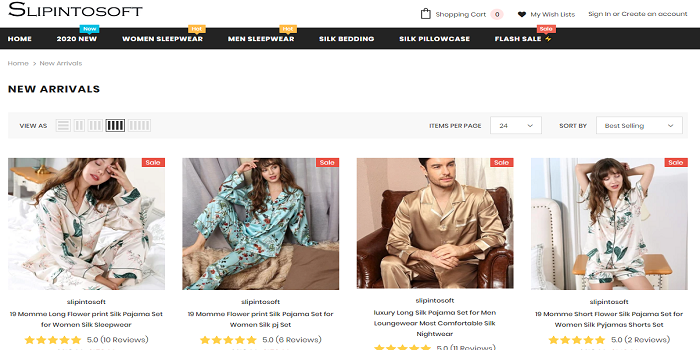 How to get good silk pajamas for men?