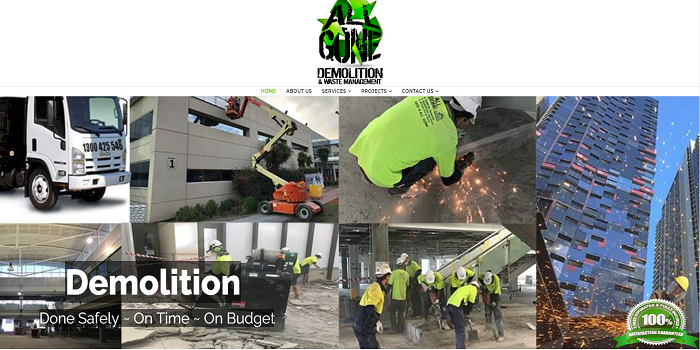 Demolition Services for Industrial Needs