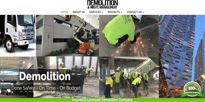 Why Would You Take a look at Demolition and Likewise The product Services?