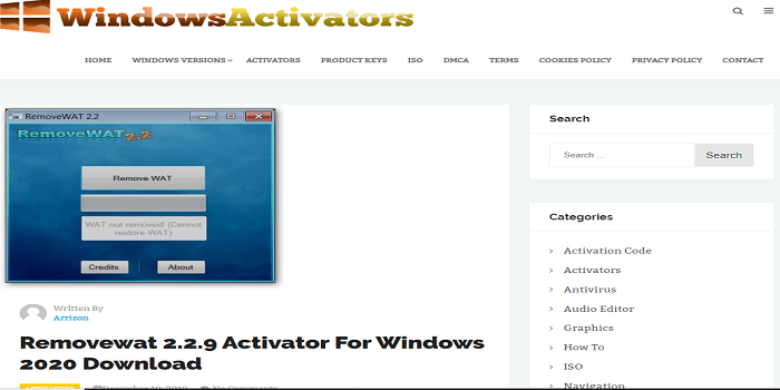 Microsoft Office 2020 Toolkit Activator Removewat