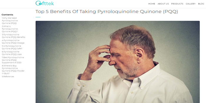 Boost The Energy In Your Cells With Pyrroloquinoline Quinone