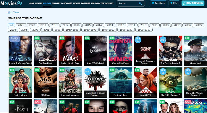 Ideal Free Movie Streaming Sites 2020